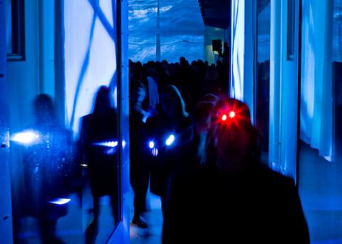 Rúrí - Sequences 2008.  Reykjavík Art Museum, Hafnarhús