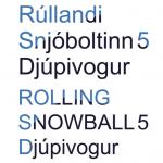 Rullandi Snjobolti 5 logo